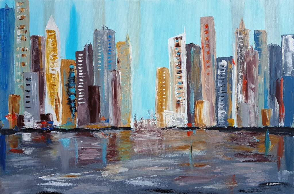 Cityscape Reflections