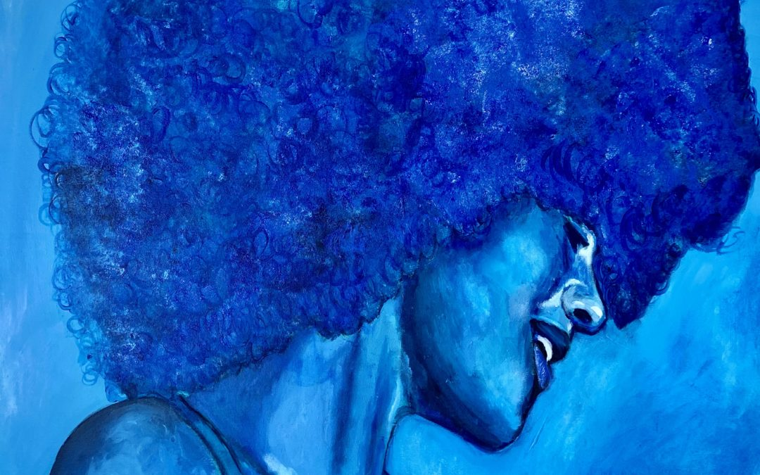 Blue Afro